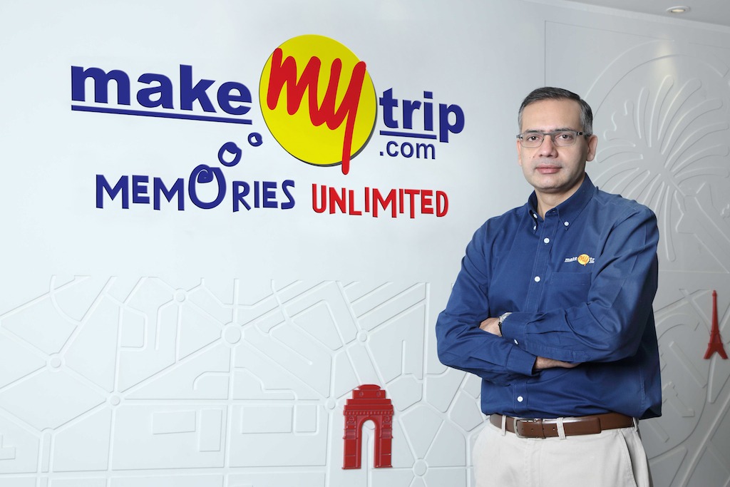 MakeMyTrip CEO, Deep Kalra