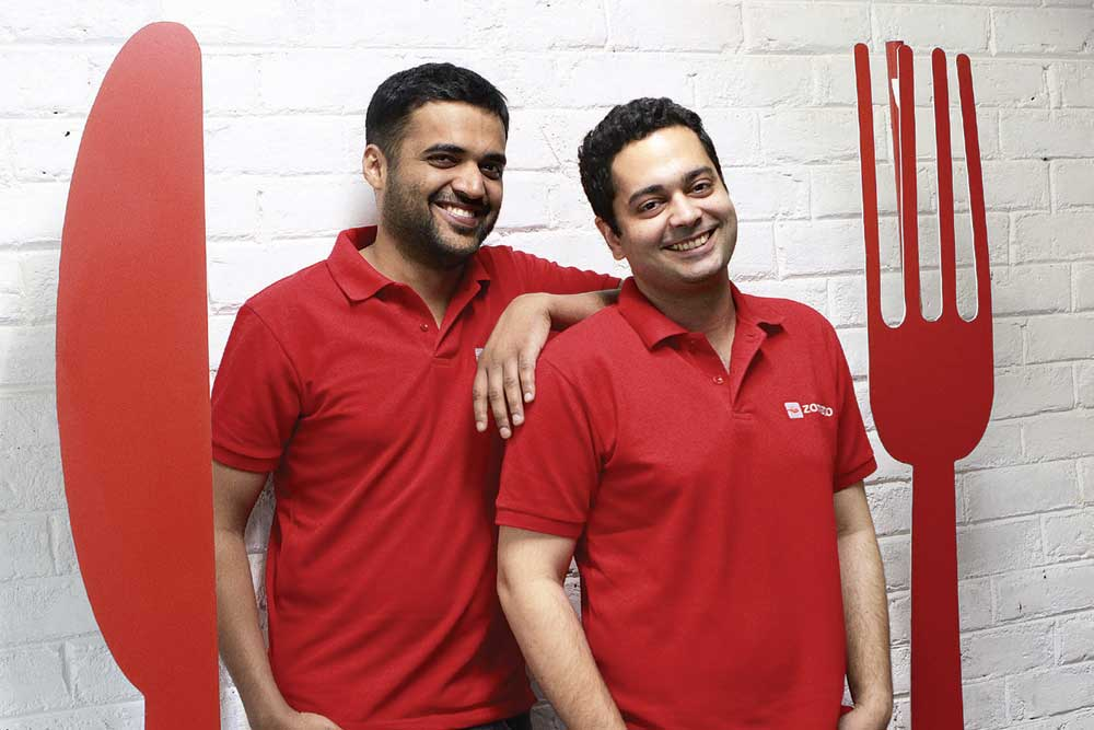 Zomato Co-founders, Deepinder Goyal and Pankaj Chaddah