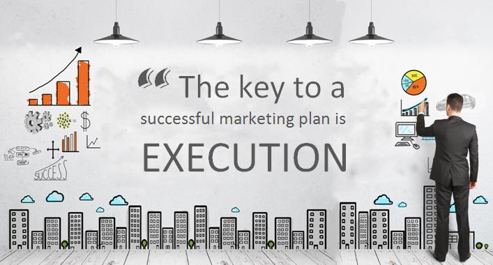 execute marketing plan