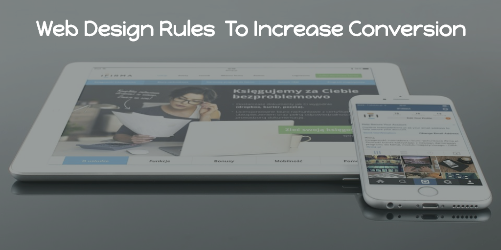 8 Rules To Follow In Website Design To Increase Conversion