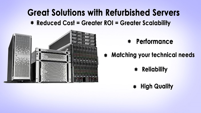 Great Solutions with Refurbished Servers 2