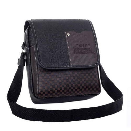 High quality two-layer leather bag