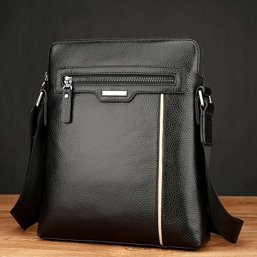 Men's vertical business briefcase bag