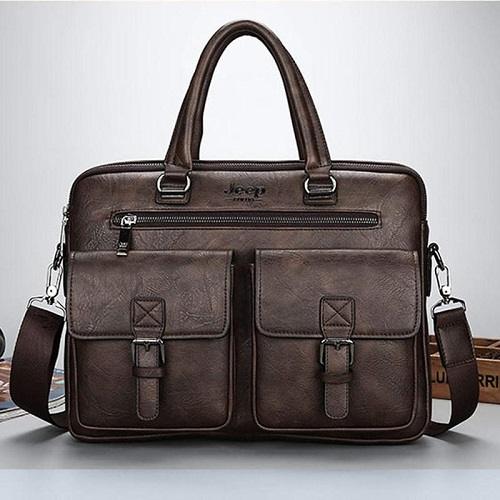 New retro men's shoulder bag