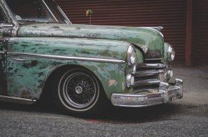 car abrasion