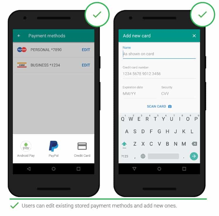 12 step 2 Adding payment details